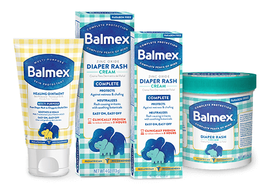 Balmex Diaper Rash Remedies
