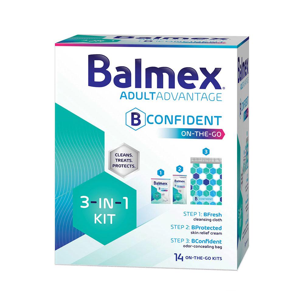 Balmex AdultAdvantage On-The-Go 3-In-1 Kit