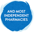 and most independent pharmacies